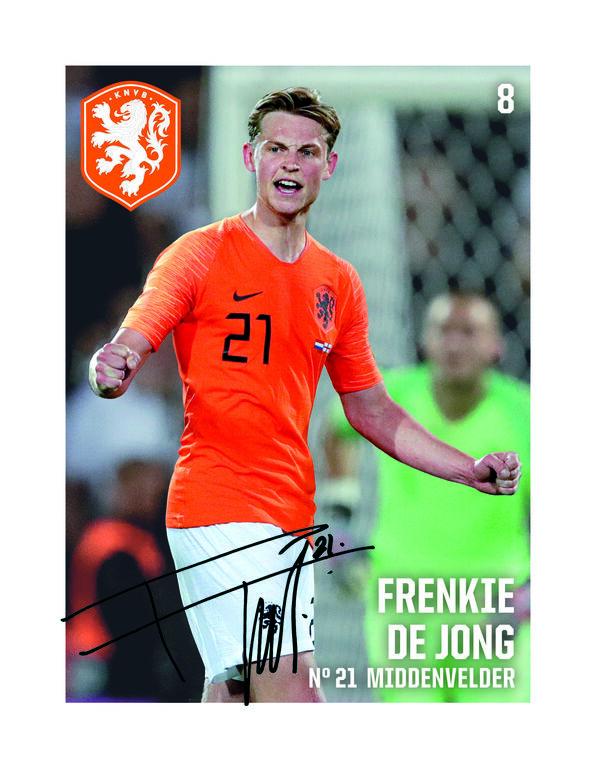 Collect Dutch soccer stars at Albert Heijn