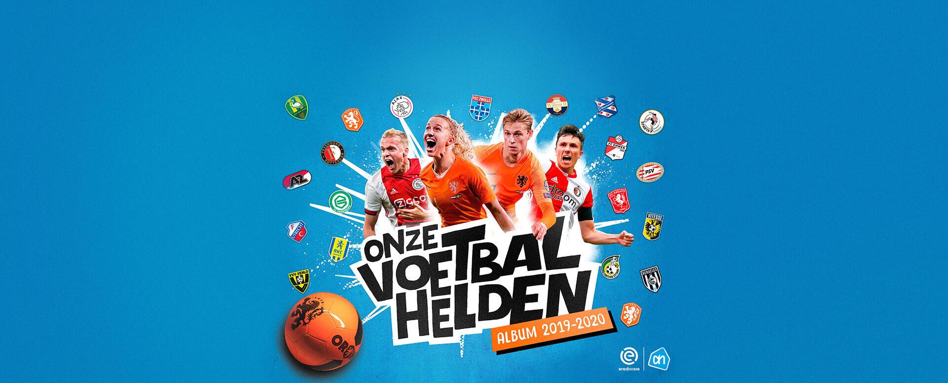 <strong>Collect Dutch soccer stars </strong>at Albert Heijn