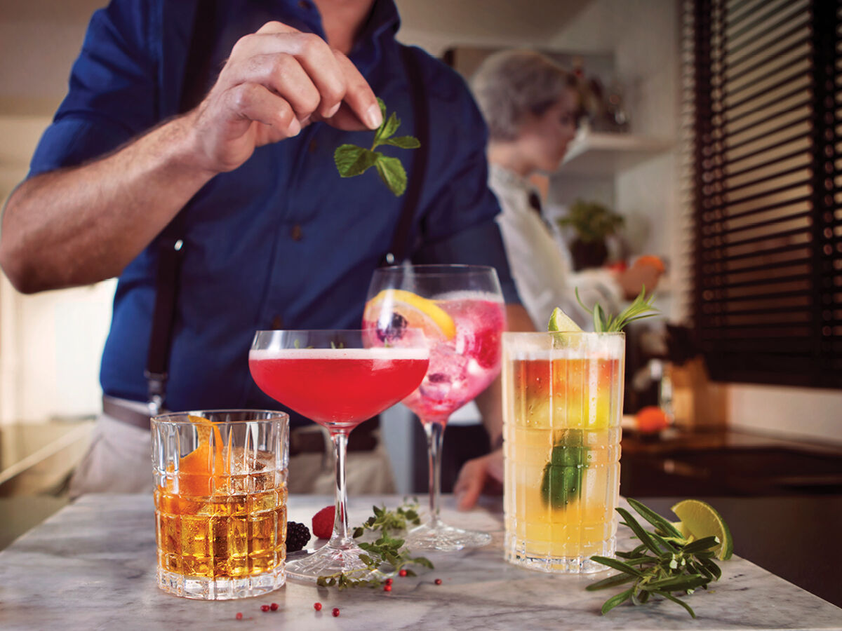 Create a genuine bar experience