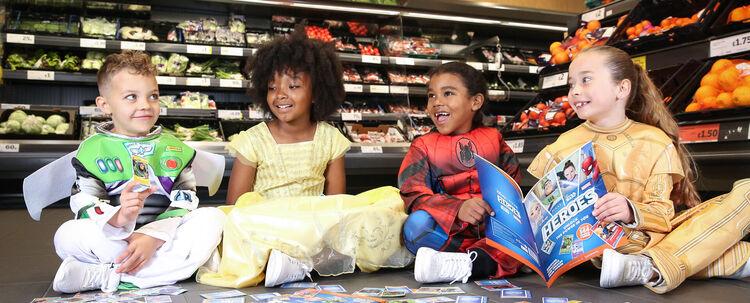 Empowering kids throughDisney Heroes