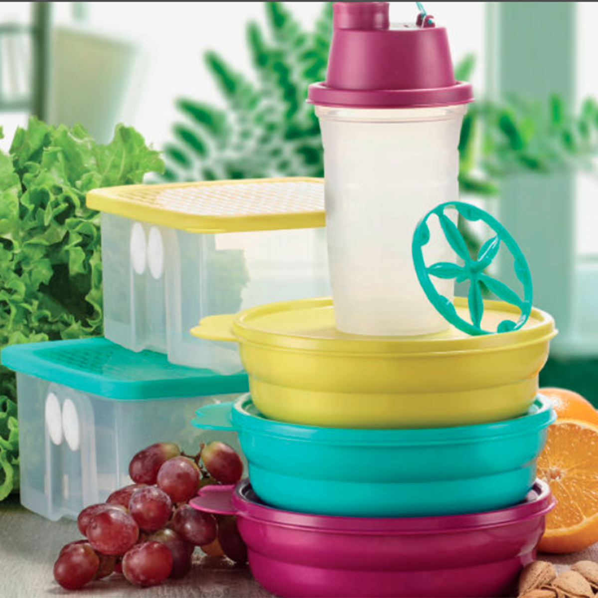 Find out more about Tupperware