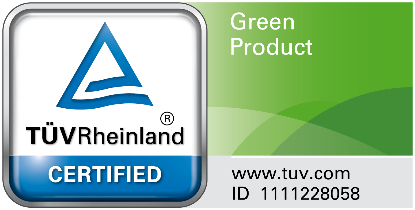 First to receive the TÜV Rheinland Green Product Mark for luggage range