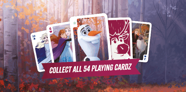 Frozen 2 cards cool down the African summer!