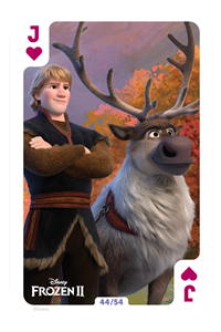 Frozen 2cards cool down the African summer!