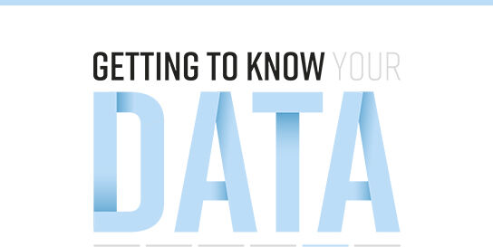 Getting toknow your data