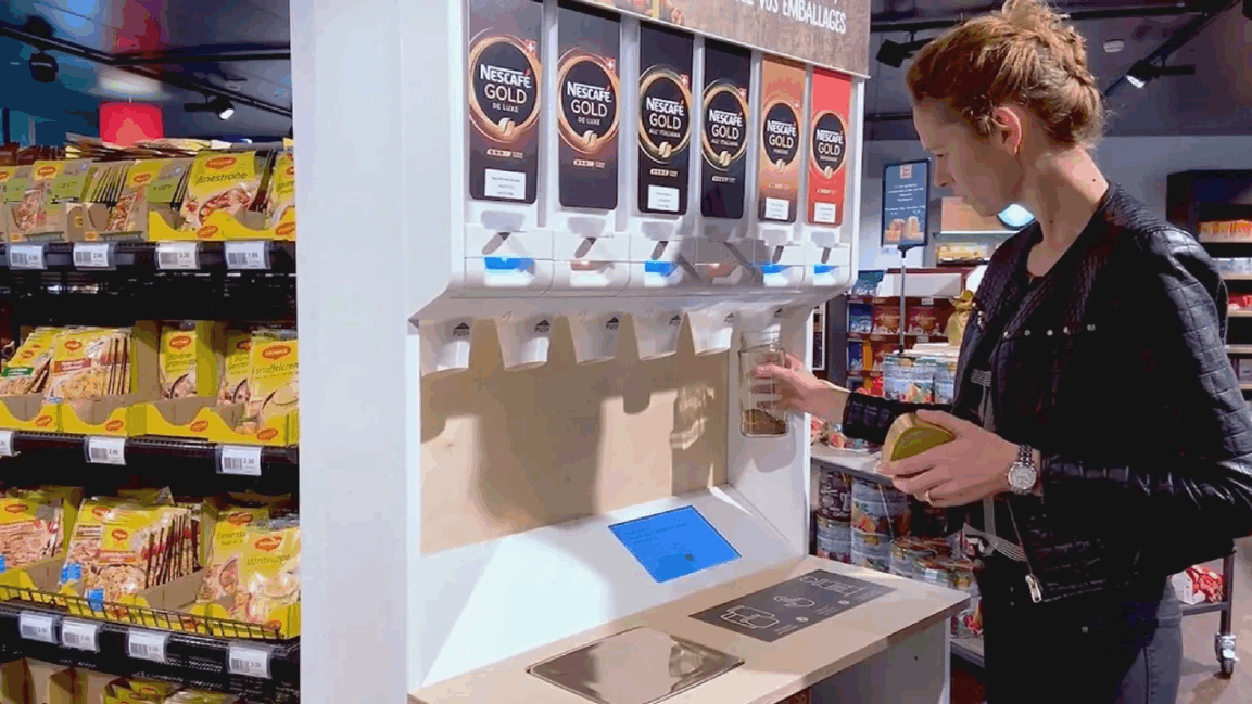 Nestl&eacute; tests <strong>new technology</strong> to cut <strong>packaging waste</strong>