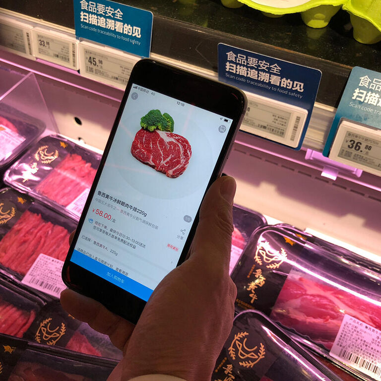 Online natives of food retail around the globe
