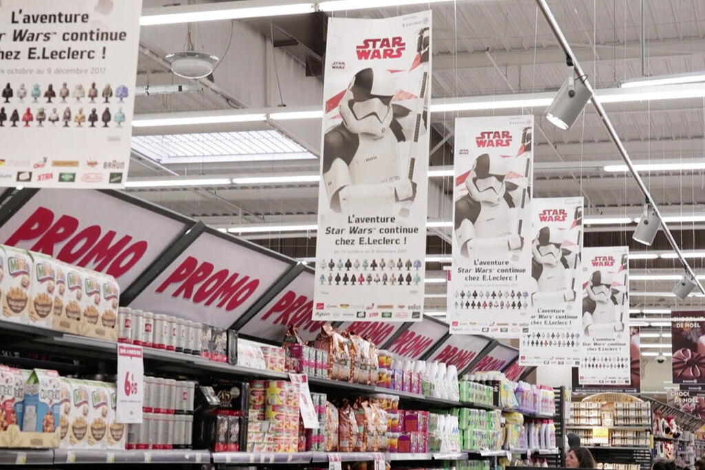 Owning the Star Wars brand in France