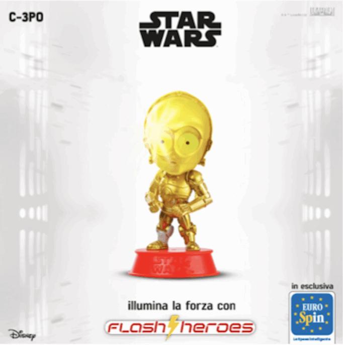 Star Wars Flash Heroes at Eurospin!