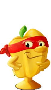 Stikeez- Fruit and veggies