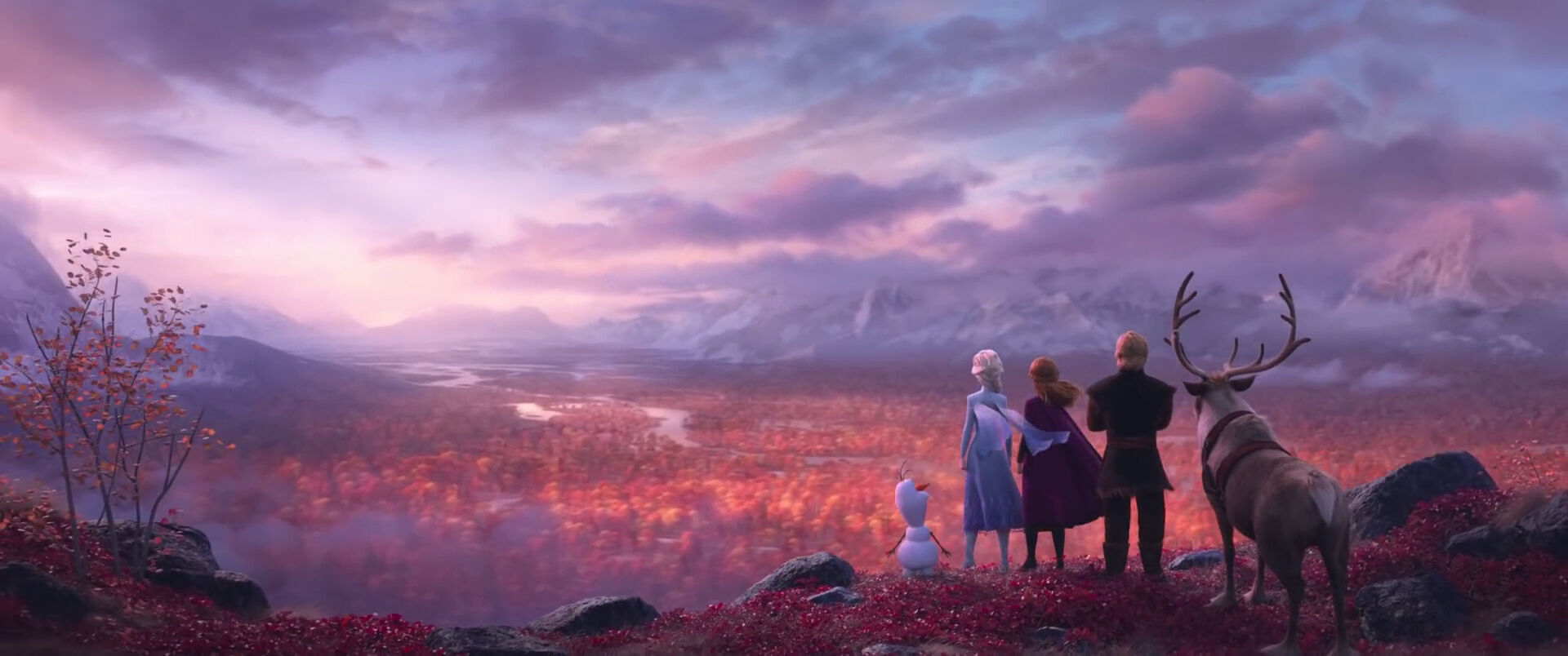 The Frozen 2 teaser is here and we just can'tlet it go