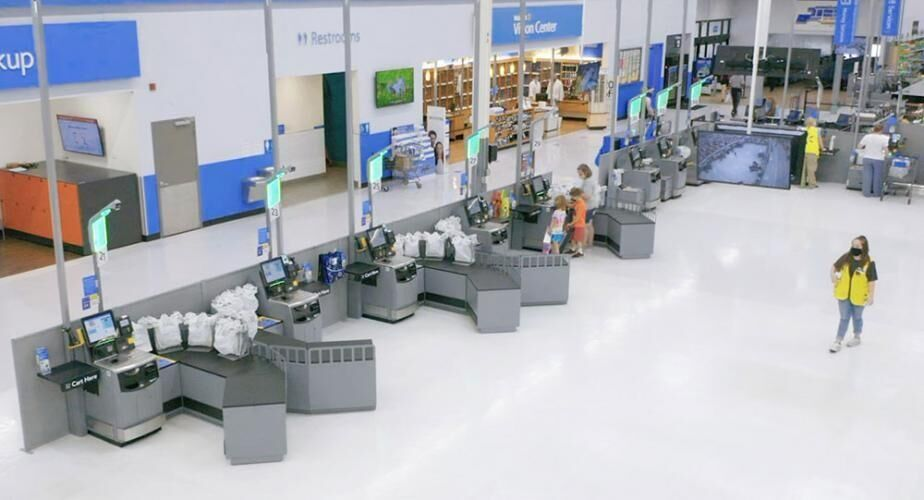 Walmart tests new self-checkout experience